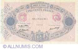 Image #1 of 500 Francs 1931 (29. I.)
