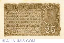 25 Bani ND (1917) - 1