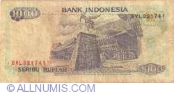 Imaginea #2 a 1000 Rupiah 1992/1994