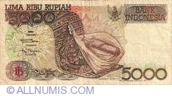 Imaginea #1 a 5000 Rupiah 1992/1995