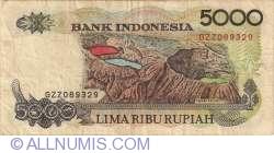 Imaginea #2 a 5000 Rupiah 1992/1995