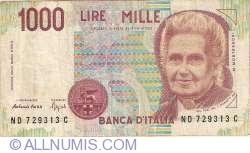 Image #1 of 1,000 Lire 1990
