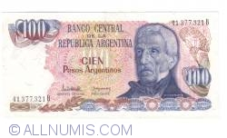 Image #1 of 100 Pesos Argentinos ND(1983-1985)
