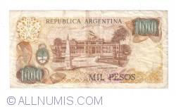 Image #2 of 1000 Pesos ND (1976-1983) - signatures Pedro Camilo López/ Adolfo César Diz