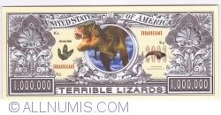 Image #1 of 1 000000 Dollars 2002 - Dinosaurs