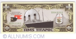 Image #1 of 1 000 000 Dollars ND - Titanic