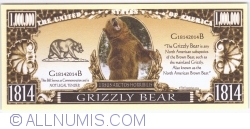 Image #1 of 1 000 000 - 2014 - Grizzly Bear