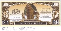 Imaginea #1 a 1 000 000 - 2014 - Ursul Grizzly