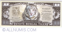 Imaginea #1 a 1 000 000 - 2014 - Tigrul alb bengalez