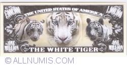 Imaginea #2 a 1 000 000 - 2014 - Tigrul alb bengalez