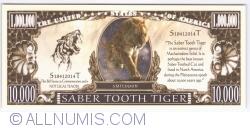 Imaginea #1 a 1 000 000 - 2014 - Tigrul cu dinți sabie