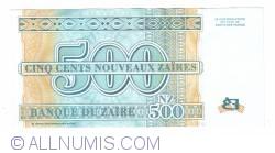 Image #2 of 500 Nouveaux Zaires 1995  (30. I.)