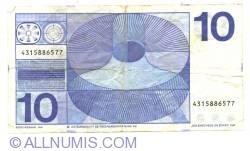 Imaginea #2 a 10 Gulden 1968 (25. IV.)