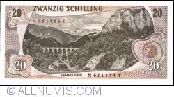 Image #2 of 20 Schilling 1967 (2. VII.) (1968)