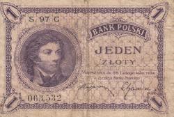 Image #1 of 1 Zloty 1919 (28.II) (1924)