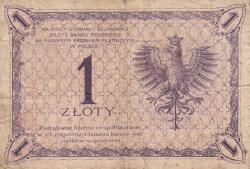 Image #2 of 1 Zloty 1919 (28.II) (1924)