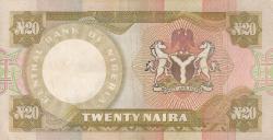 Imaginea #2 a 20 Naira ND (1977-1984)