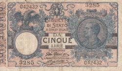 Image #1 of 5 Lire 1915 (17. VI.)
