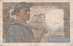 Imaginea #1 a 10 Franci 1947 (30. X.)