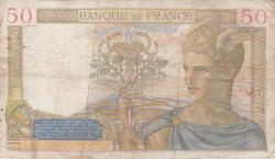 Image #2 of 50 Francs 1939 (13. VII.)
