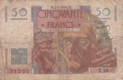 Image #1 of 50 Francs 1946 (2. V.)