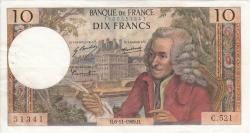 Imaginea #1 a 10 Franci 1969 (6. XI.)