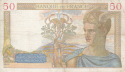 Image #2 of 50 Francs 1935 (14. VIII.)