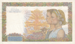 Image #2 of 500 Francs 1942 (5. XI.)