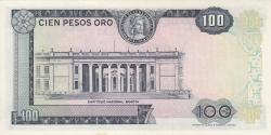 Imaginea #2 a 100 Pesos Oro 1971 (20. VII.)