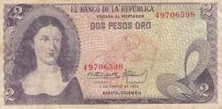 Imaginea #1 a 2 Pesos Oro 1972 (1. I.)