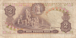 Imaginea #2 a 2 Pesos Oro 1972 (1. I.)