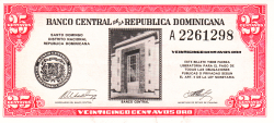 Imaginea #1 a 25 Centavos Oro ND (1961)