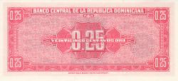 Imaginea #2 a 25 Centavos Oro ND (1961)
