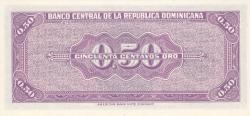 Imaginea #2 a 50 Centavos Oro ND (1961)