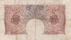 Image #2 of 10 Shillings ND (1948-1949)