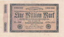 Image #1 of 1 Million (1 000 000) Mark 1923 (25. VII.) (H - BK)