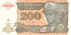 Image #1 of 200 Nouveaux Zaïres 1994 (15. II.)