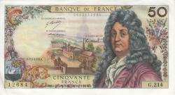 Image #1 of 50 Francs 1973 (3. V.)
