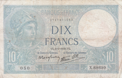 Imaginea #1 a 10 Franci 1939 (2. II.)