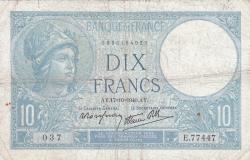Image #1 of 10 Francs 1940 (17. X.)