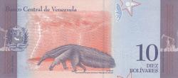 Imaginea #2 a 10 Bolivares 2018 (15. I.)