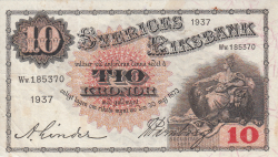 Image #1 of 10 Kronor 1937