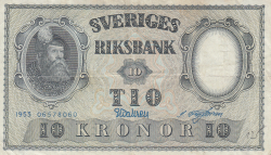 Image #1 of 10 Kronor 1953 - 5