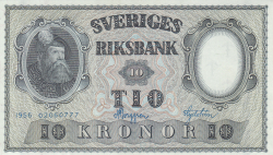 Image #1 of 10 Kronor 1956 - 3