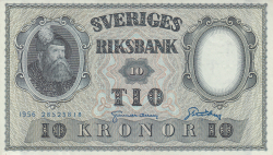Image #1 of 10 Kronor 1956 - 2