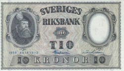 Image #1 of 10 Kronor 1959 - 4