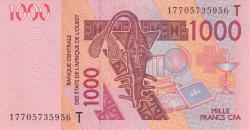 Image #1 of 1000 Francs (20)17