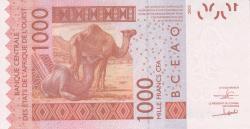 Image #2 of 1000 Francs (20)17