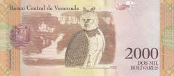 Image #2 of 2000 Bolivares 2016 (18. VIII.) - 2