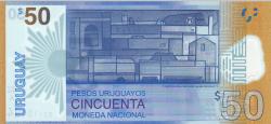 Image #2 of 50 Pesos Uruguayos 2017